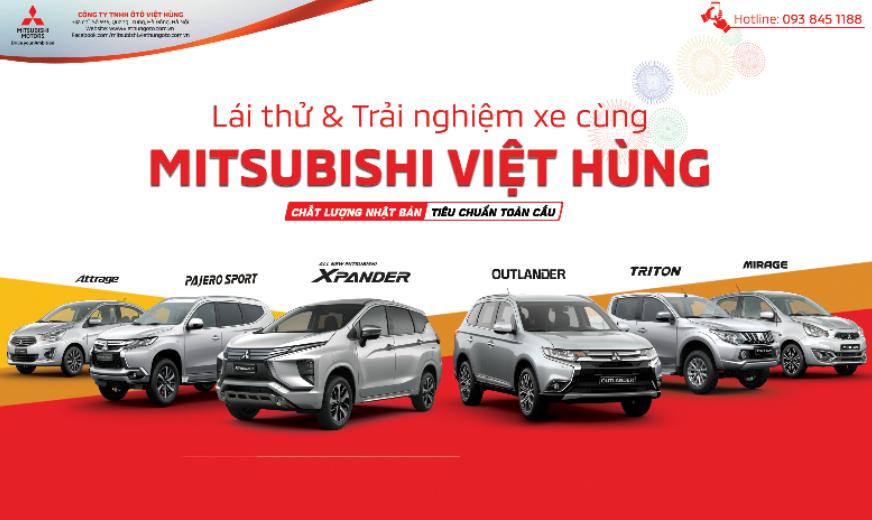 Chương trình lái thử và trải nghiệm cùng Mitsubishi Việt Hùng