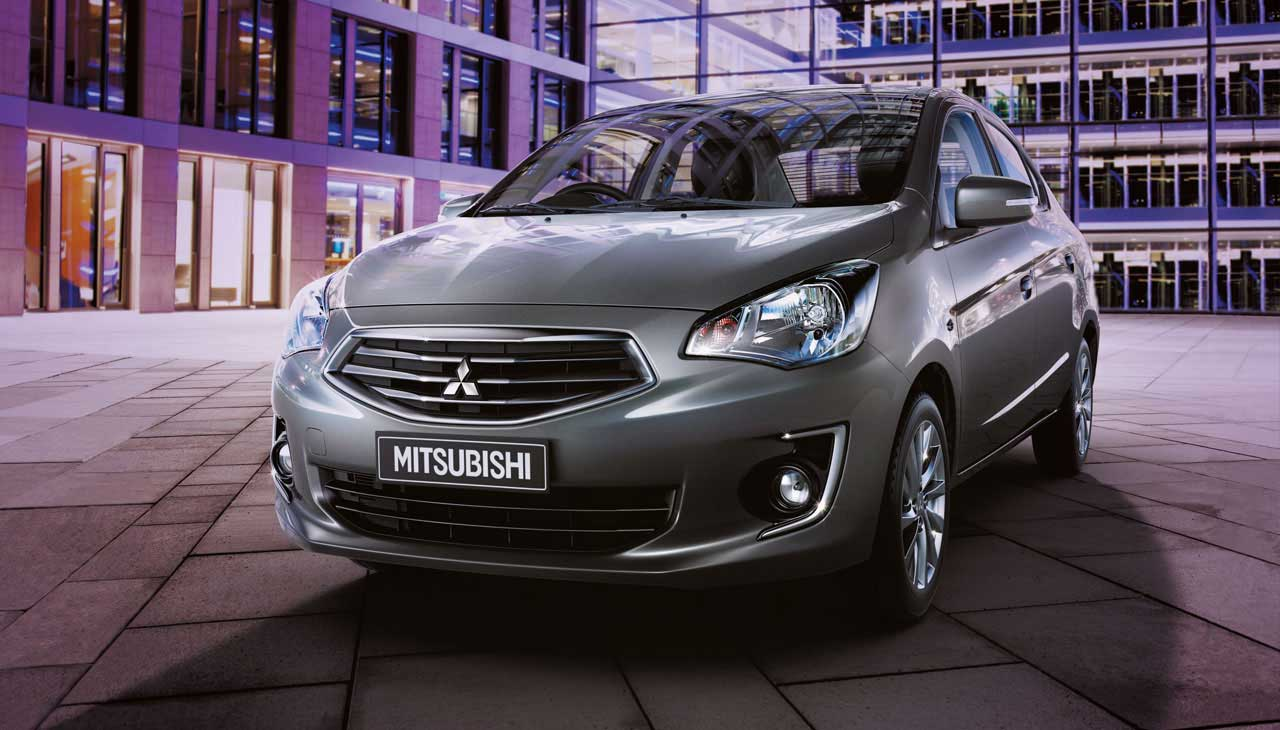 Mitsubishi Attrage- Lôi cuốn từ nội thất sang trọng