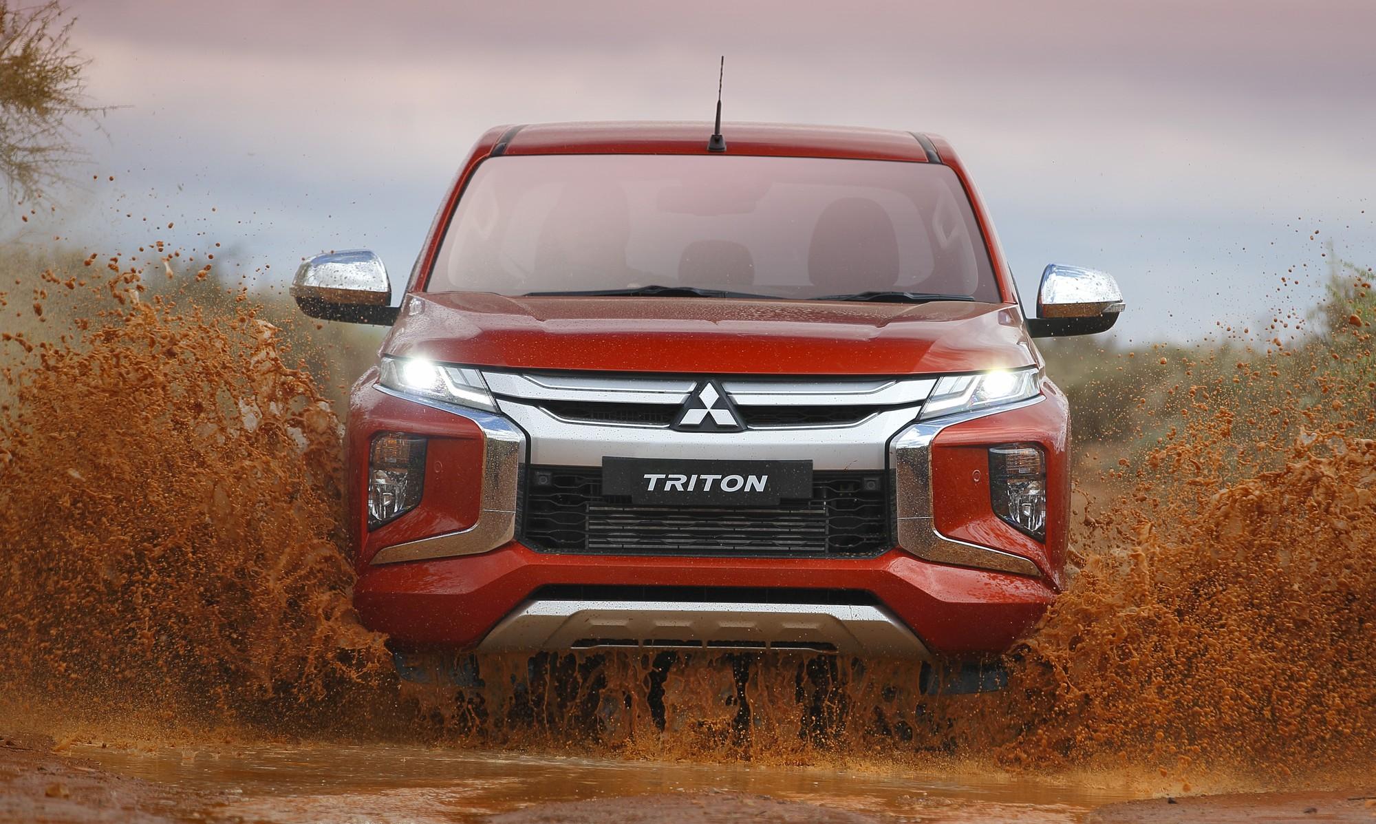 Mitsubishi Triton 2019 lột xác theo phong cách Xpander