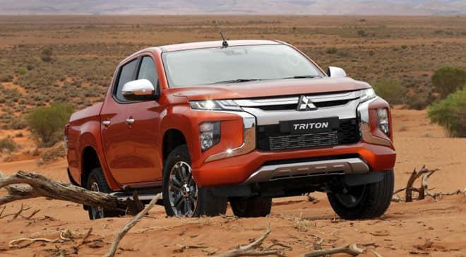 Mitsubishi Triton nổi trội, vận hành cao