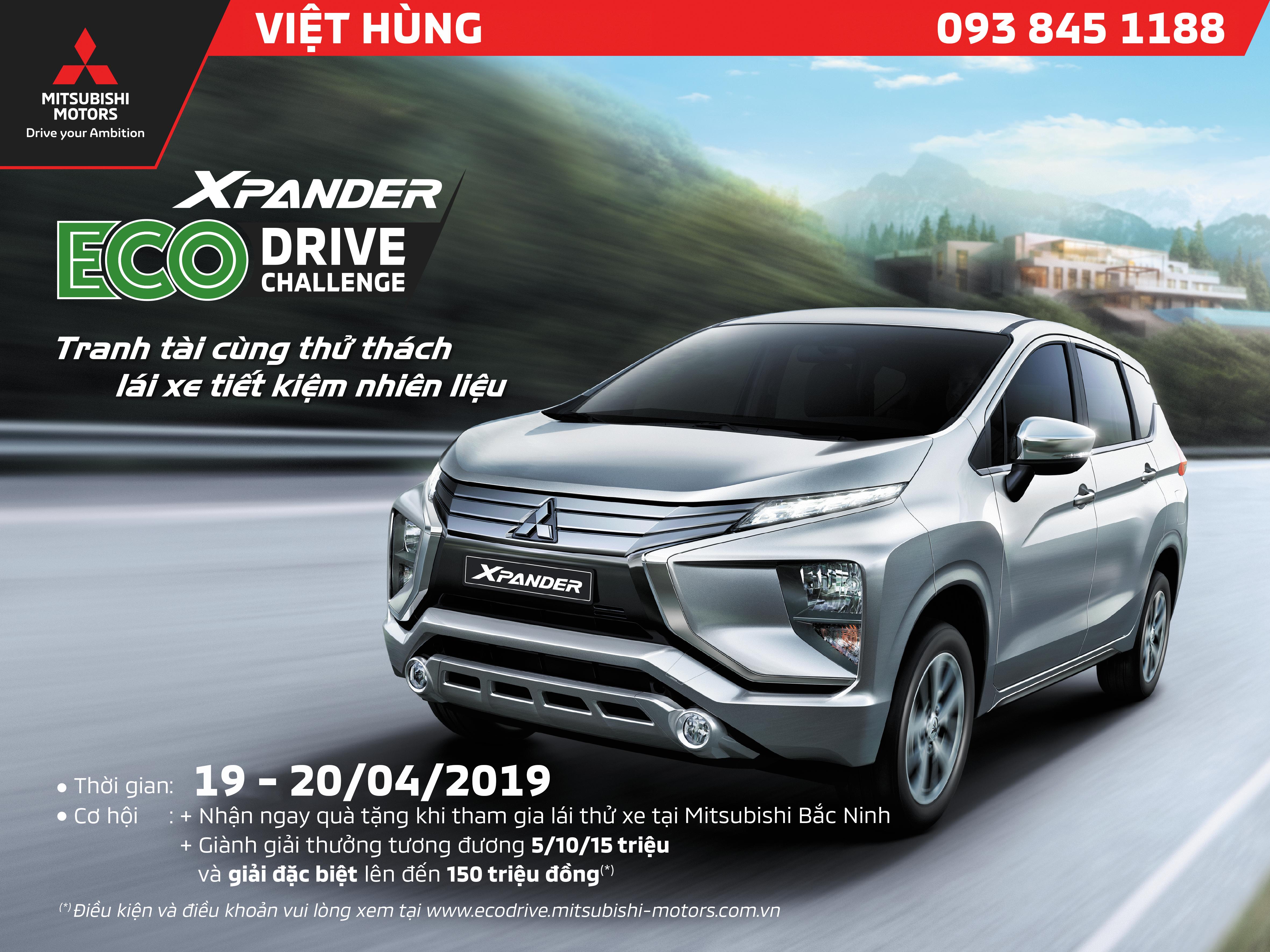 """Sự kiện """"Tranh tài cùng thử thách tiết kiệm nhiên liệu"""" cùng Mitsubishi Việt Hùng"""